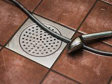 Installation drain de douche