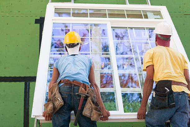 pose de fenêtre sur-mesure Bois